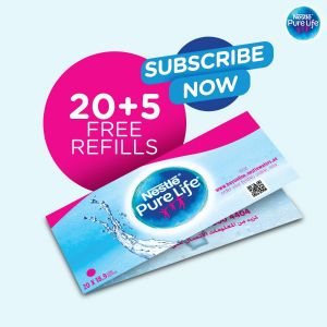20+5 Free refills subscribe now