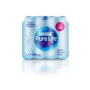 Nestle Pure Life 0.6 L PET Bottle