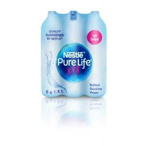 Nestle Pure Life 1.5 L PET Bottle