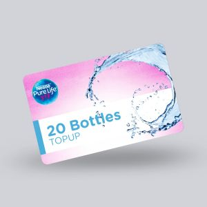 20 Bottles Top up e-coupons
